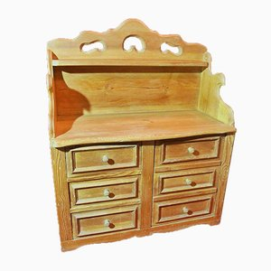 Louis Philippe Style Bank Commode