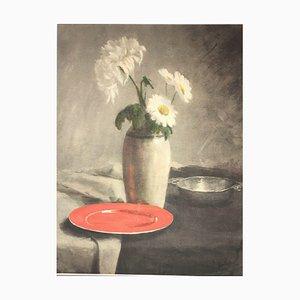 Constantia Arnola Balwe, Margareten Chrysantheme, Gemischte Medien
