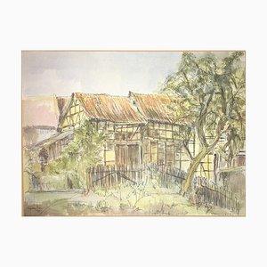 Ingeborg Mengel Ingeborg, 1985, Watercolor
