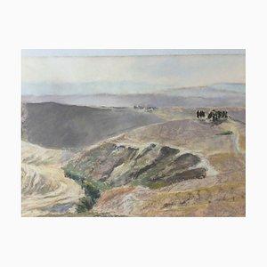 Werner Cee, Tuscany, 1953, Pastel