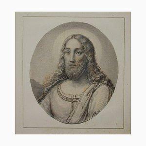 Jesus, 1856, Aquarell