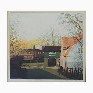 Reimer Riediger, 1942, Etching