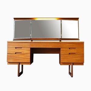 Mid-Century Dressing Table & Mirror by Gunther Hoffstead for Uniflex, 1960s