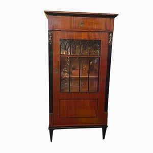 Antique Louis XVI Narrow Display Cabinet