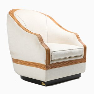 Bergère Lounge Chair from Vivai del Sud, 1970s