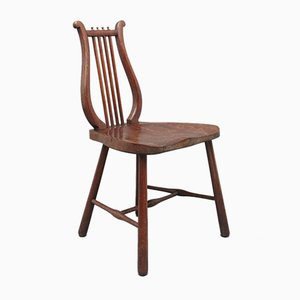 Early-19th Century Fruitwood Country Side Chair