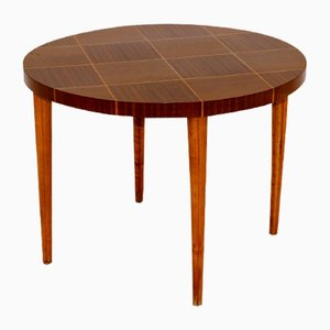 Swedish Mahogany Coffee Table, 1950s