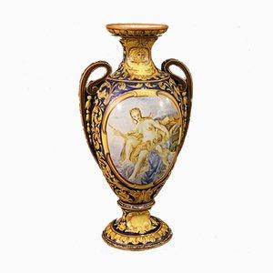 Italian Painted Ceramic Cup, 1960s