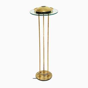 Vintage Brass Floor Lamp by Robert Sonneman for George Kovacs, 1970s