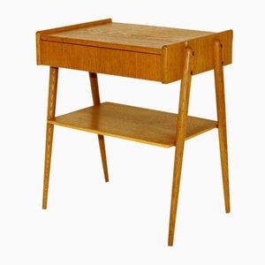 Table de Chevet en Chêne de Carlström, Suède, 1960s