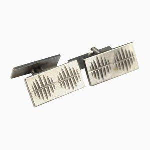 Silver Gilt Cufflinks, 1960s, Set of 2