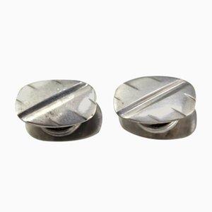 Gemelos de plata, años 60. Juego de 2