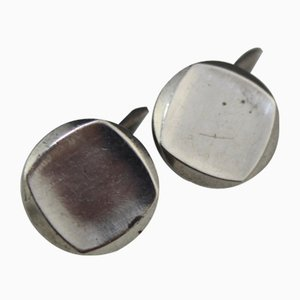 Silver Cufflinks from Württembergische Metallwaren Fabrik WMF, 1960s, Set of 2