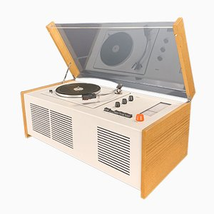 SK55 Turntables and Radio by Hans Gugelot & Dieter Rams for Braun, 1963