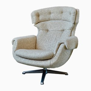 Scandinavian Swivel Lounge Chair, 1960s