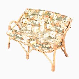 Mid-Century Danish Bamboo Sofa, 1950s