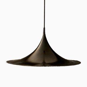 Vintage Semi Ceiling Lamp by Claus Bonderup & Torsten Thorup for Fog & Mørup, 1970s