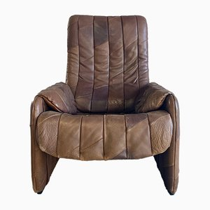 Leather Lounge Chair from de Sede, 1970s