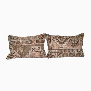 Decorative Bohemian Throw Kilim Cushion Covers, Set of 2
