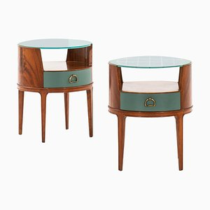 Nightstands by Axel Larsson, 1940s, Set of 2