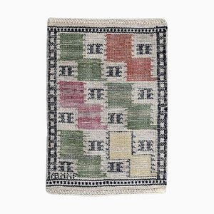 Handwoven Wool Carpet by Marta Maas-Fjetterstrom, 1930s