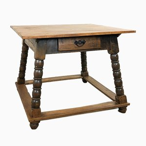Antique Spanish Payment Table