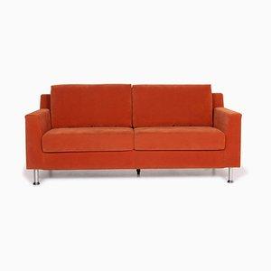 Orange Sofa from Ewald Schillig
