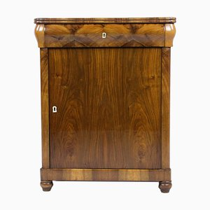 Walnut Pillar Cupboard, 1840