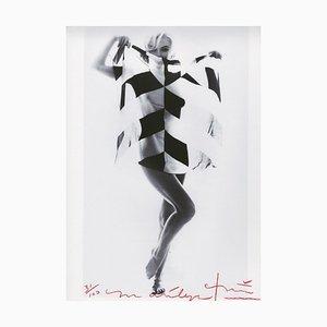 Bert Stern, Marilyn Monroe Schal in Schwarz & Weiß, 2012 2011