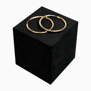 Aretes de oro de 14 quilates