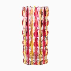 Pop Glass Vase, Italy, 1970s