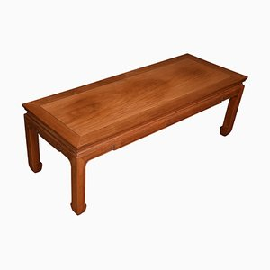 Low Chinese Hardwood Coffee Table, 1920s