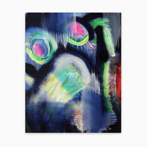 Nothing bad about receiving (Abstract painting) 2020