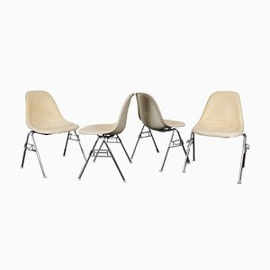 Dining Chairs by Charles & Ray Eames for Herman Miller, 1960s, Set of 4