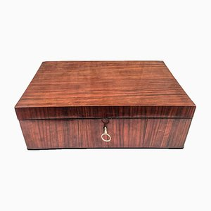 Rosewood Jewelery Box with Mirror