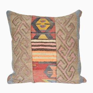Flat-Weave Kilim Cushion Cover