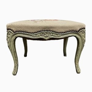 French Needlepoint Stool