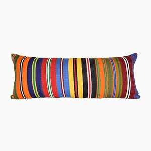 Vintage Striped Turkish Bedding Kilim Cushion Cover