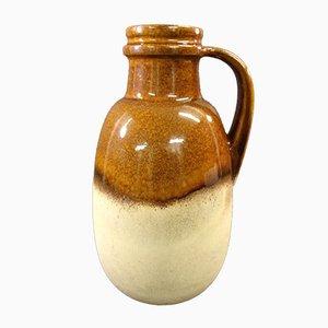 Brown Vase from Scheurich Keramik, 1970s