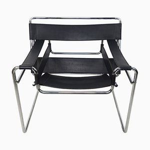 Vintage Wassily Chair by Marcel Breuer for Knoll International