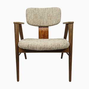 Mid-Century FT14 Teak Lounge Chair by Cees Braakman for Pastoe