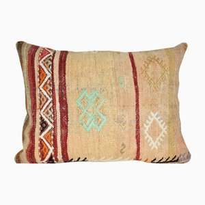 Cottage Decor Kilim Lumbar Cushion Cover