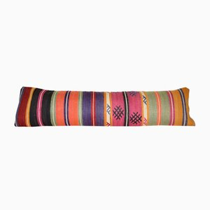 Handgemachter Kelim Kissenbezug aus Wolle