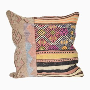 Vintage Handmade Natural Color Kilim Cushion Cover