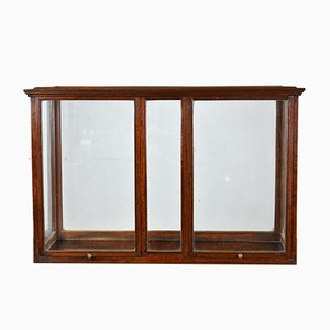 Oak Cased Table Top Display Cabinet, 1930s
