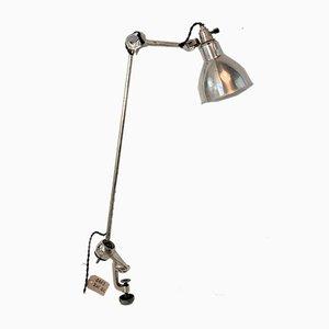 Model 201 Nickel-Plated Table Lamp by Bernard Albin Gras for Gras, 1930s