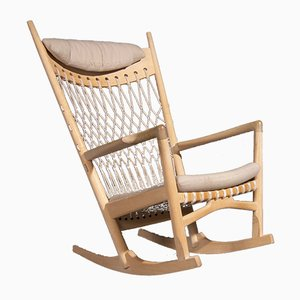Model PP124 Rocking Chair by Hans J. Wegner for Getama, 1980s