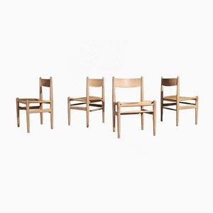 Modell CH36 Esszimmerstühle von Hans J. Wegner für Carl Hansen & Søn, 1970er, 4er Set