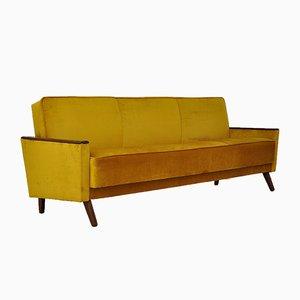Mid-Century Velvet Sofa Daybed, 1960