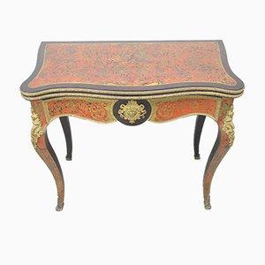 Spieltisch mit Intarsien